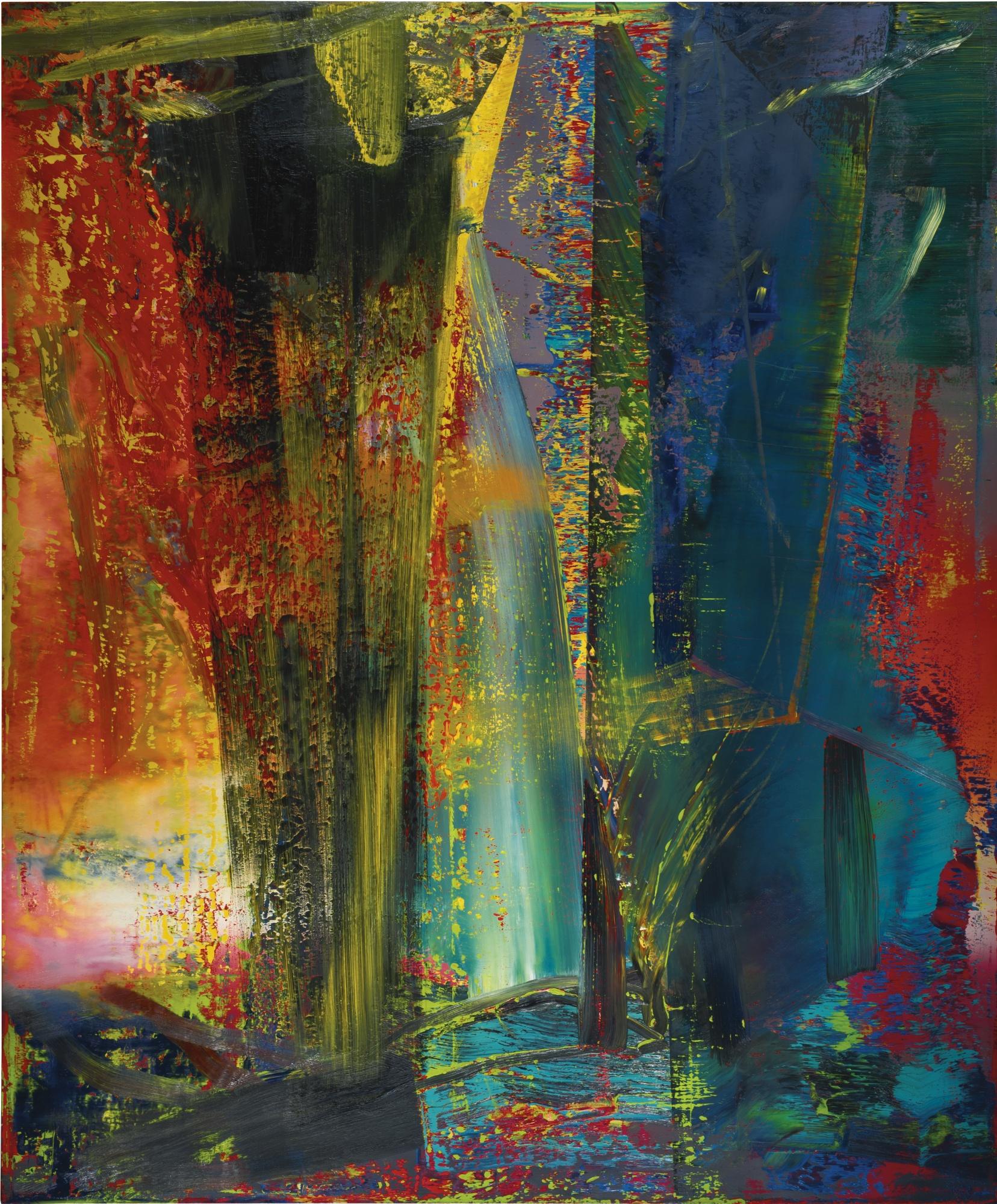Peintre Contemporain Célèbre Vivant 6 peintures abstraites de grands artistes vivants