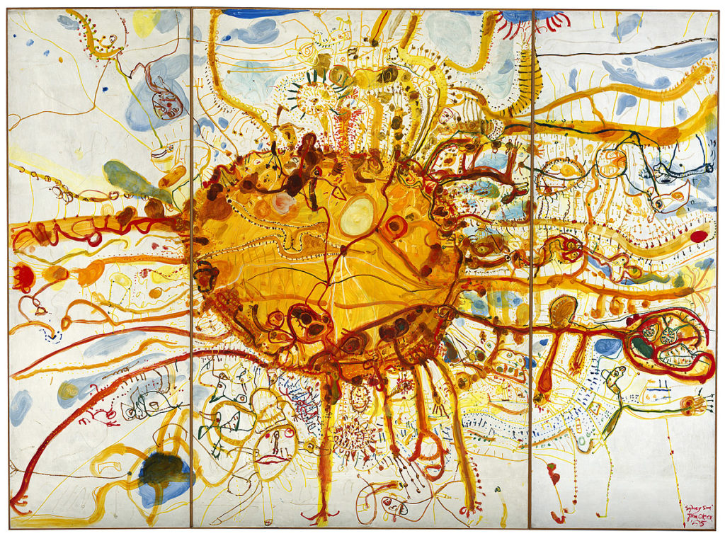 John Olsen, Sydney Sun, 1965