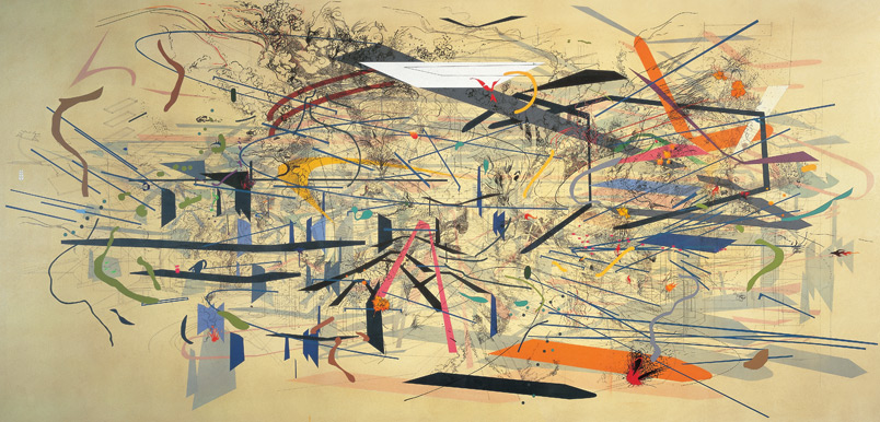 Julie Mehretu, Retopictics: A Renegade Excavation, 2001 Best Living Abstract Artists