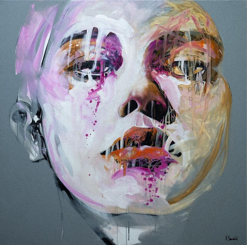 Franck Benoualid - NP5-3 -acrylique sur toile