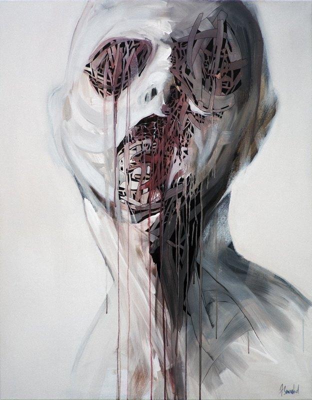 Franck Benoualid - -acrylique sur toile