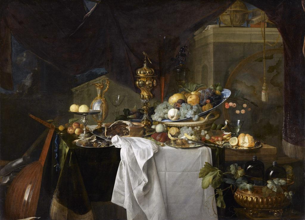 Heem Jan Davidz de (1606-1683). Paris, musÈe du Louvre. INV1321.