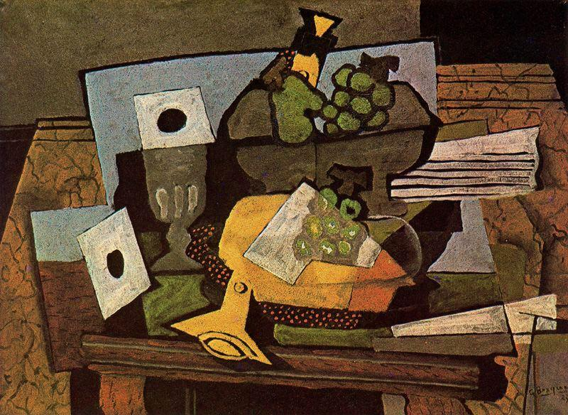Georges-Braque-Still-life-with-clarinet-