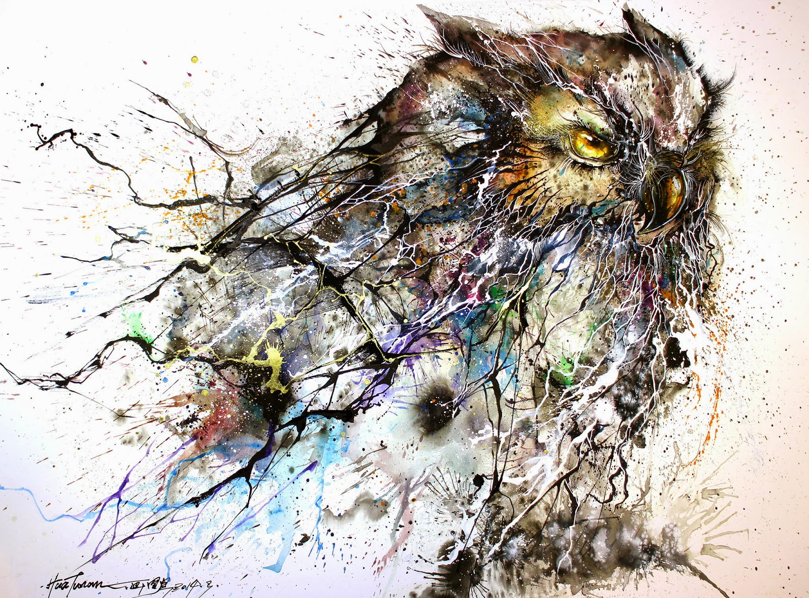 Hua Tunan - the owl
