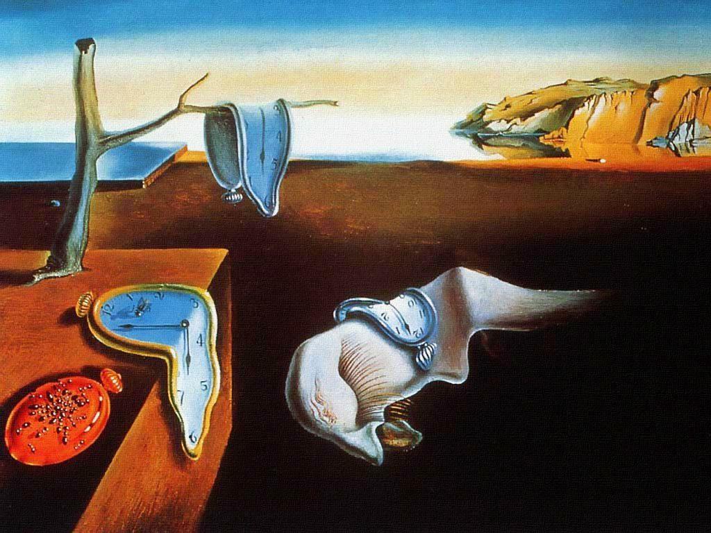 Les montres molles - Salvador Dali