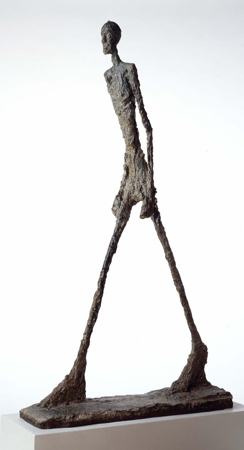 homme-qui-marche - Alberto Giacometti
