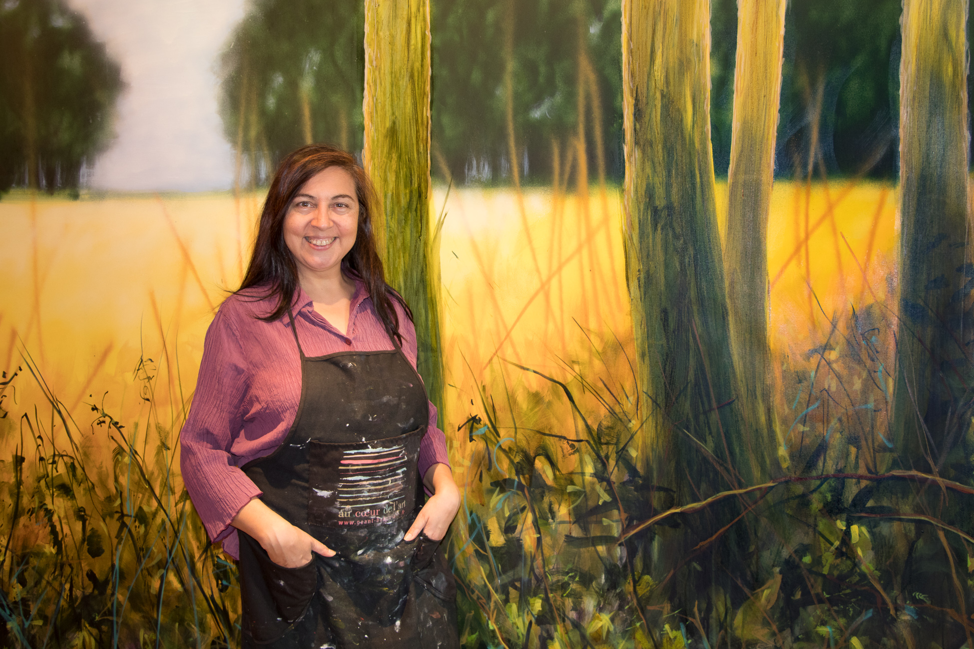 Fabienne Monestier professional french painter