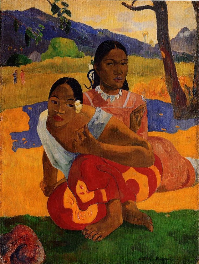 QUand te maries-tu - Paul Gauguin
