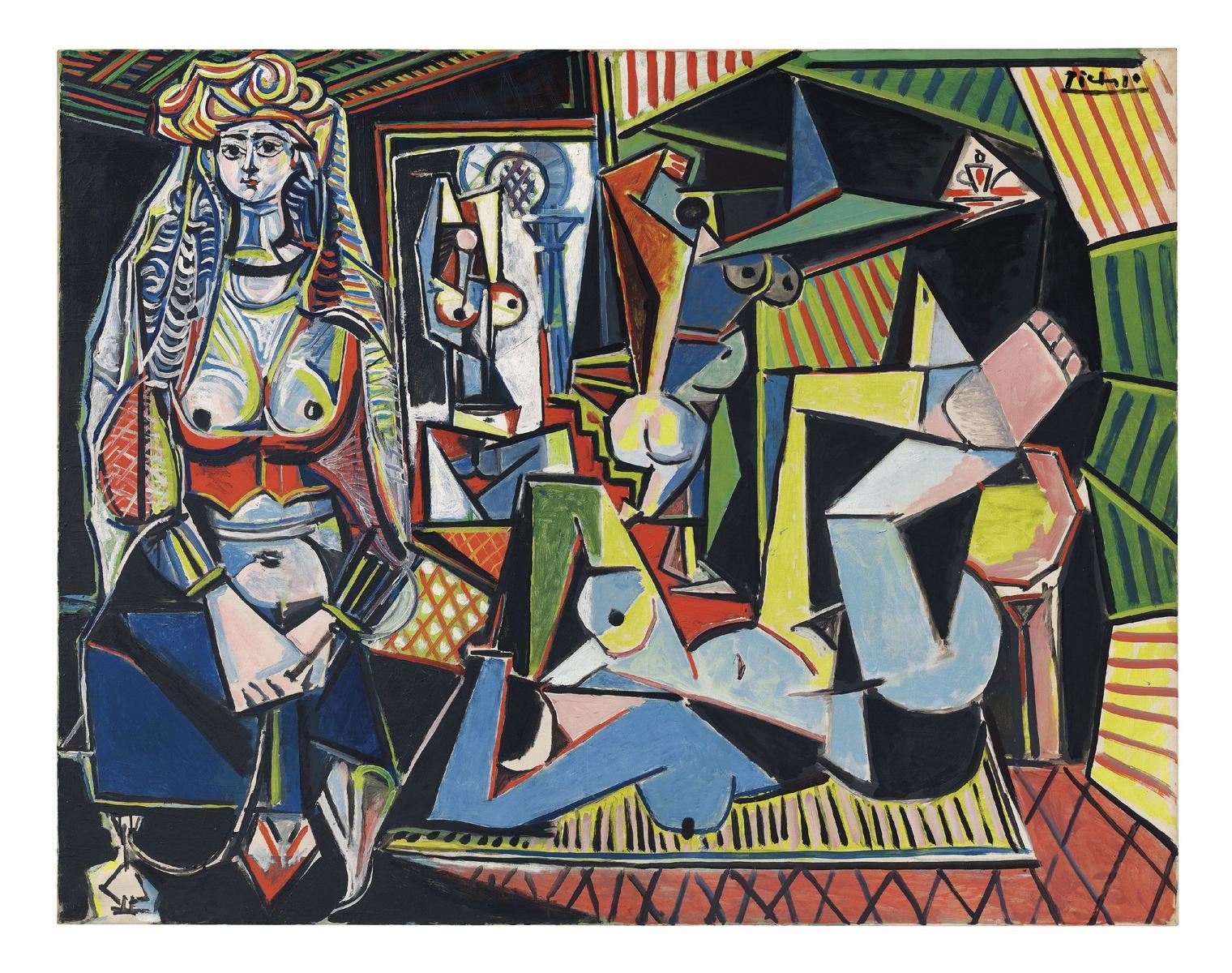 les femmes d'alger Picasso