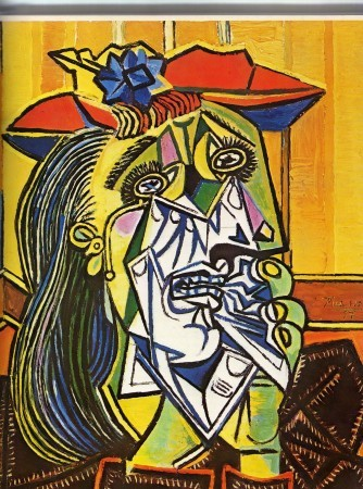 Cubism movement classics: Pablo Picasso, The Weeping Woman, 1937