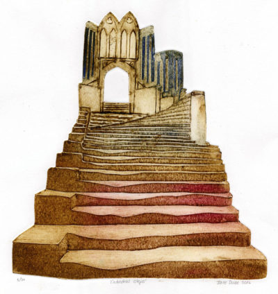 Cathedral Steps by Jane Duke