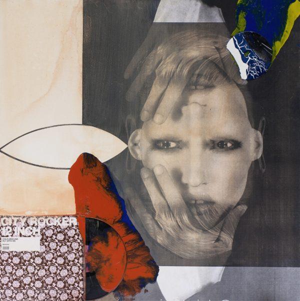 FarbKlang, 2012, Mischtechnik auf Leinwand, 110 x 110 cm
