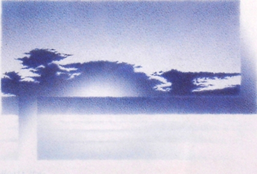 Mathias Wolf, 1994, byron bay, Kugelschreiberzeichnung, 5cm x 8,5 cm (1)
