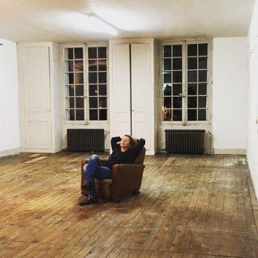 Steph dans nouvel atelier