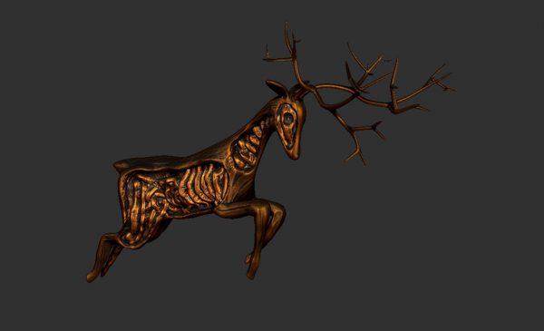 deer-charging