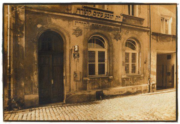 Gum-Bichromat---Krakau-ehemalige-Synagoge