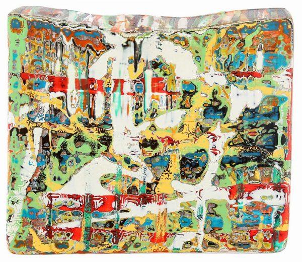 Wood Land II - 18 cm x 20 cm x 5 cm - 2015