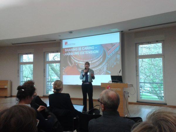 Im April 2017 war ich für das Museum Burg Posterstein bei Sharing is Caring in Hamburg - Ins Leben gerufen hat die Konferenz Merete Sanderhoff vom dänischen Statens Museum for Kunst (Foto)