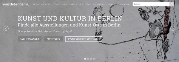 KUNSTLEBEN BERLIN start-1