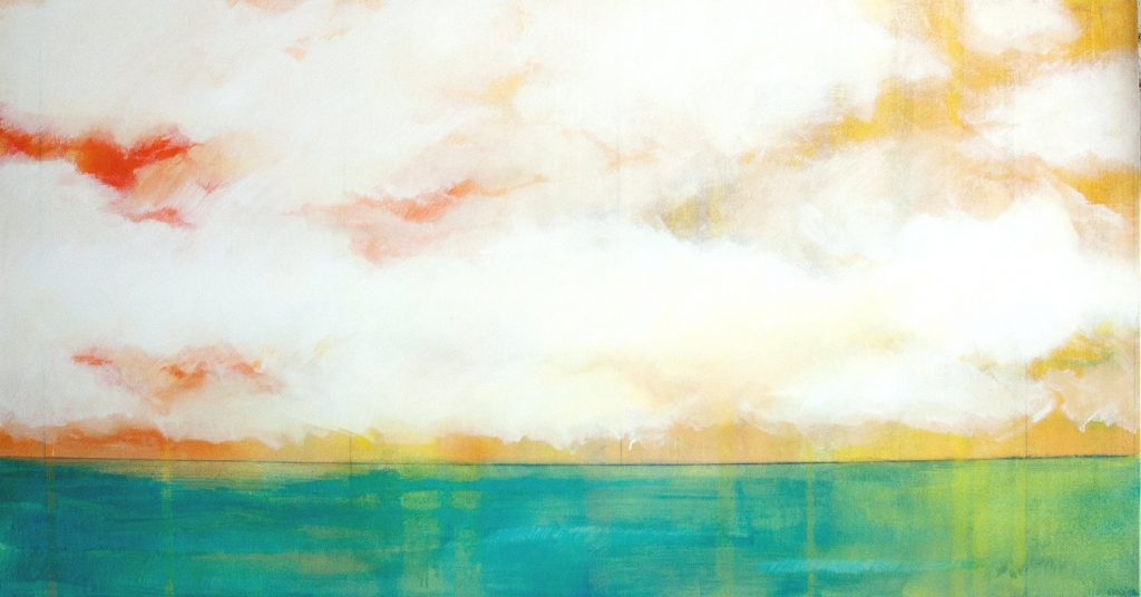 Himmel und Meer Türkis