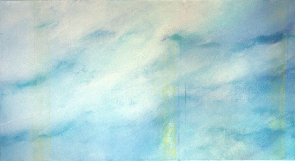 Wolken hellblau