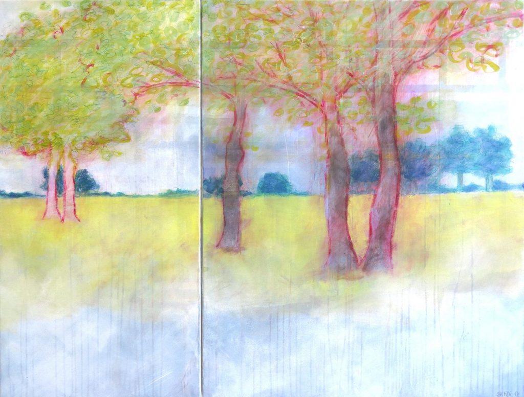 champ des arbres