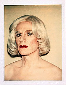 Andy Warhol, Self-Portrait in Drag, 1981.