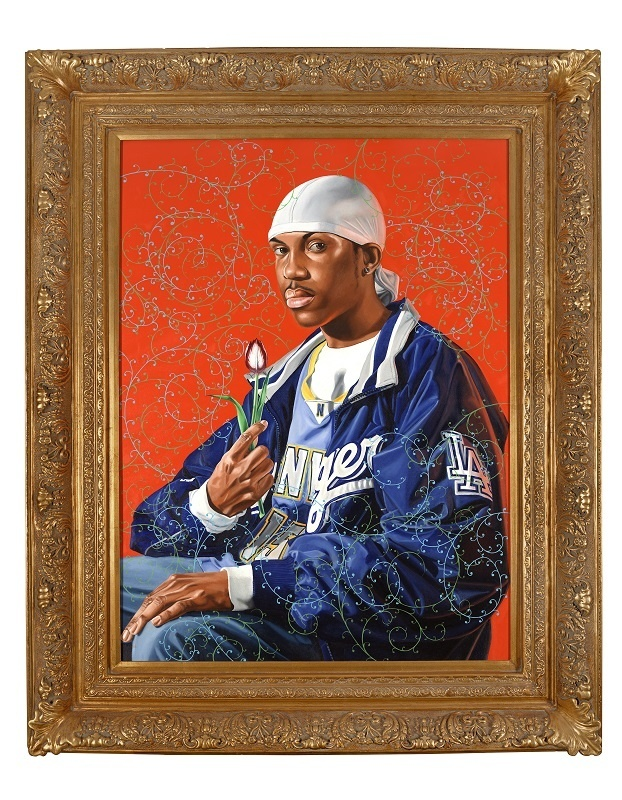 Kehinde Wiley, Portrait of Simon George II, 2007.