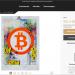 """Titelbild: Bitcoin-Kunst: """"Bitcoin 2018!"""" von Jp Malot, Acryl, Collage, Aquarell, Graffiti, Filz, Tinte auf Papier, 70x50cm. Zu erwerben auf Singulart."""