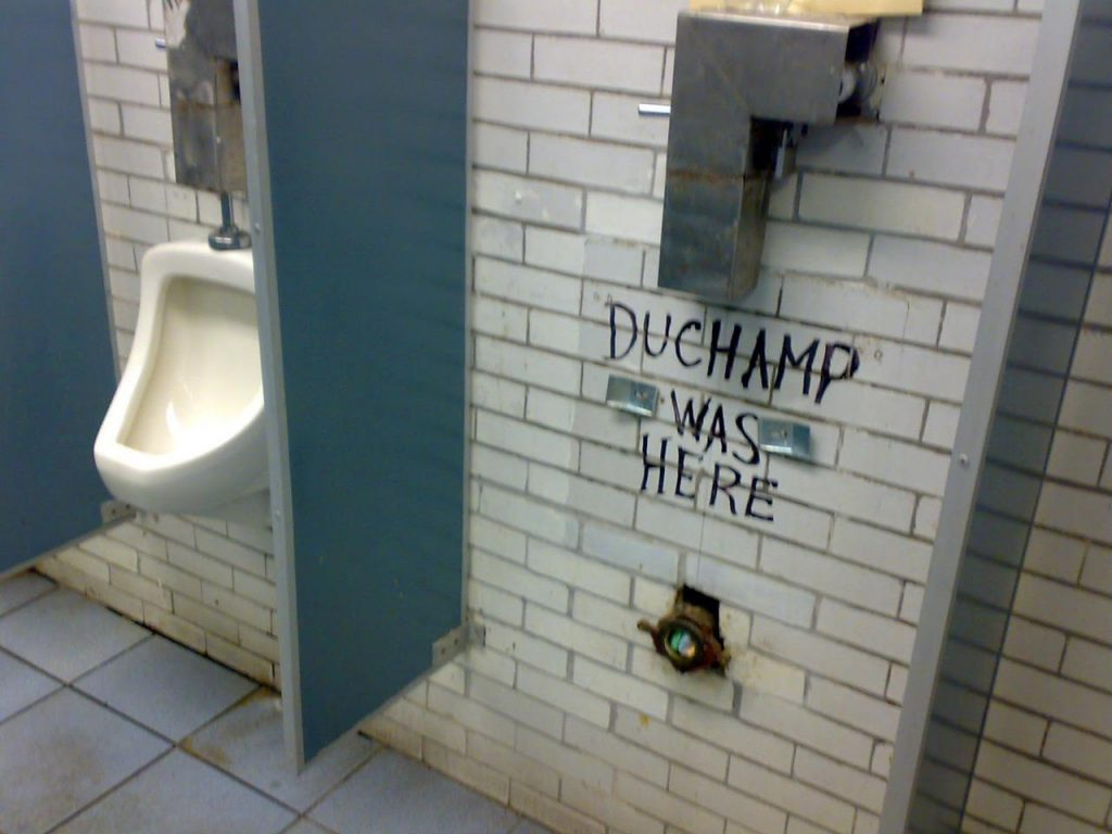 Duchamp was here.