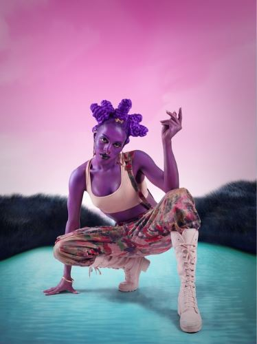 Juliana Huxtable, 'Untitled (Psychosocial Stuntin'),' 2015. Image via Artsy.