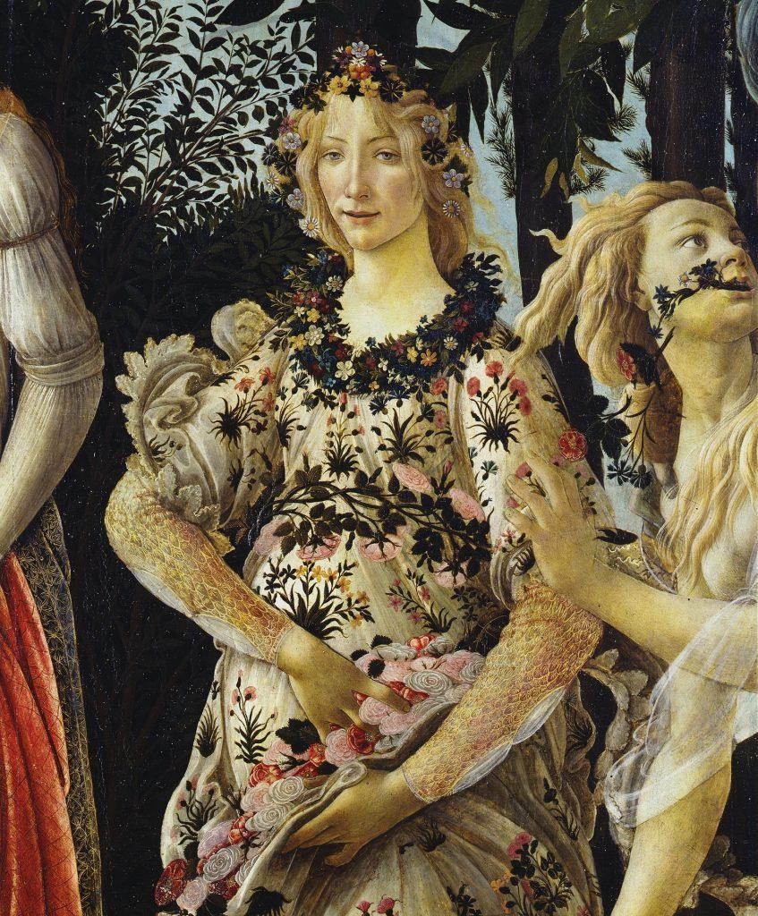 Detailansicht (linke Bildhälfte): Flora.