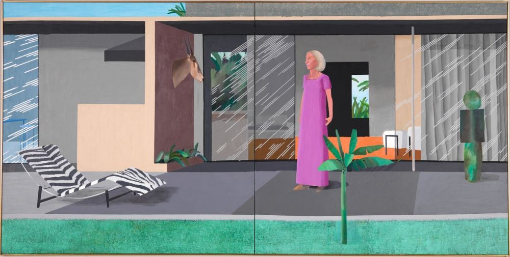 「Beverly Hills Housewife david hockney」の画像検索結果
