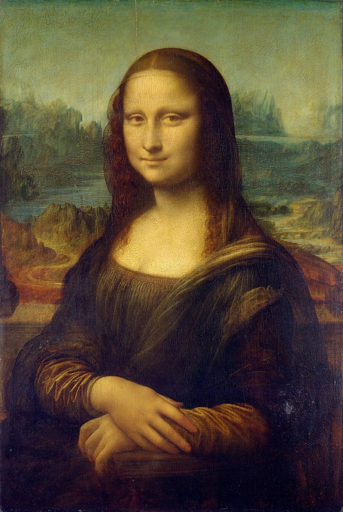 The Mona Lisa or La Gioconda (1503–1505/07)
