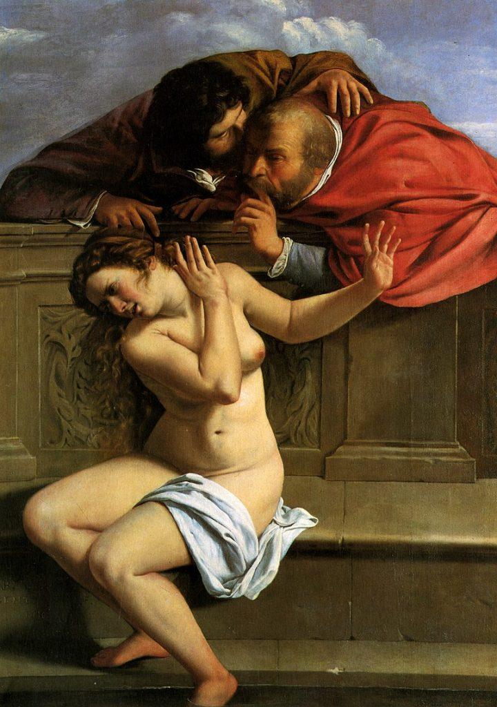 Artemesia Gentileschi, Susanna and the Elders , 1610