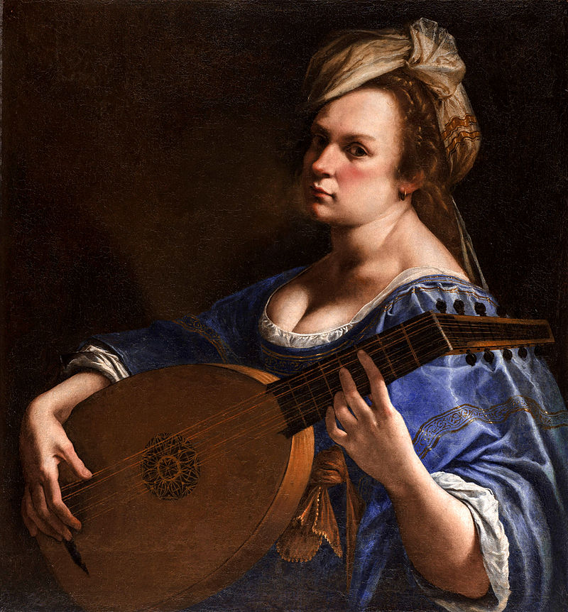 Self-Portrait as a Lute Player, 1615–17