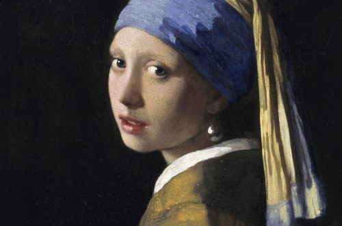 Das Mädchen mit dem Perlenohrring von Jan Vermeer