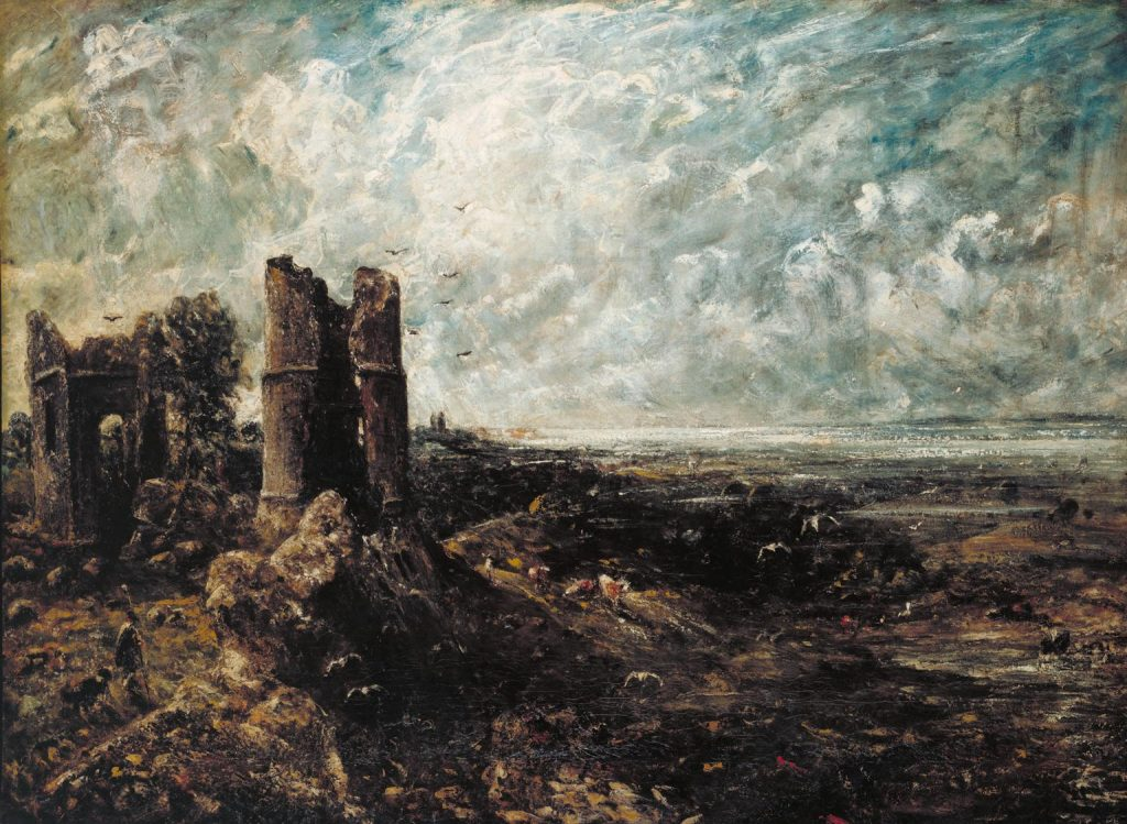 John Constable, Hadleigh Castle, c.1828-9. Image via The Tate