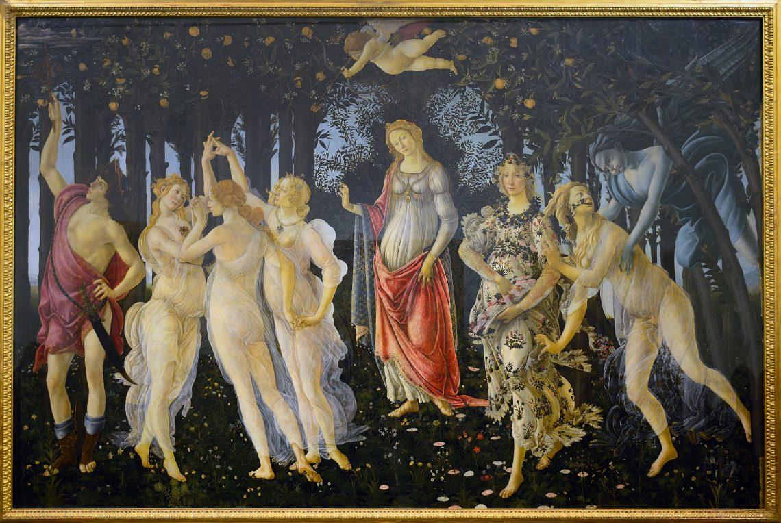 "Das Gemälde ""Primavera"" von Sandro Botticelli"