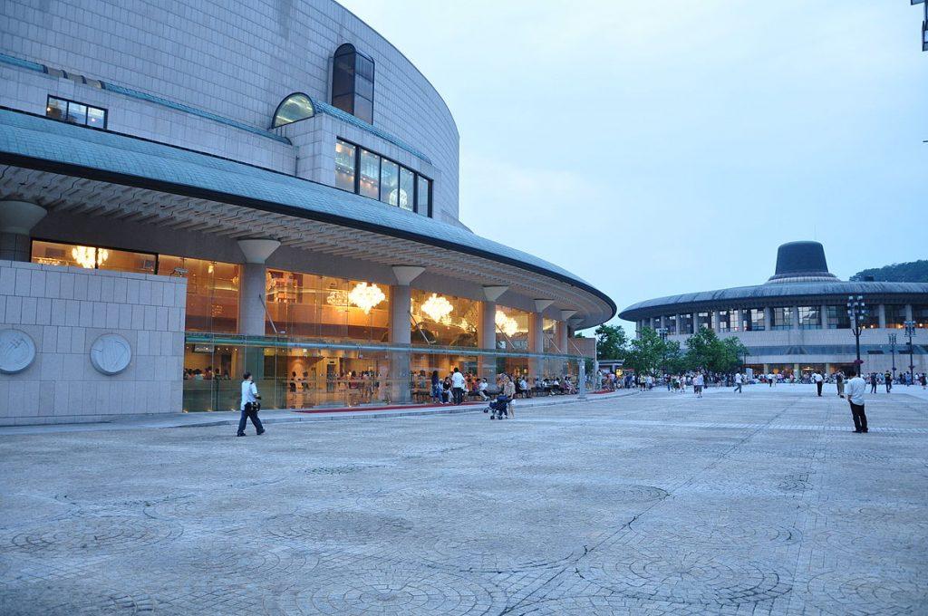Seoul Arts Center. Foto: Oskar Alexanderson