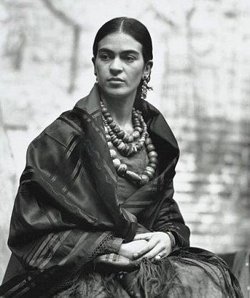 Frida Kahlo via fridakahlo.org