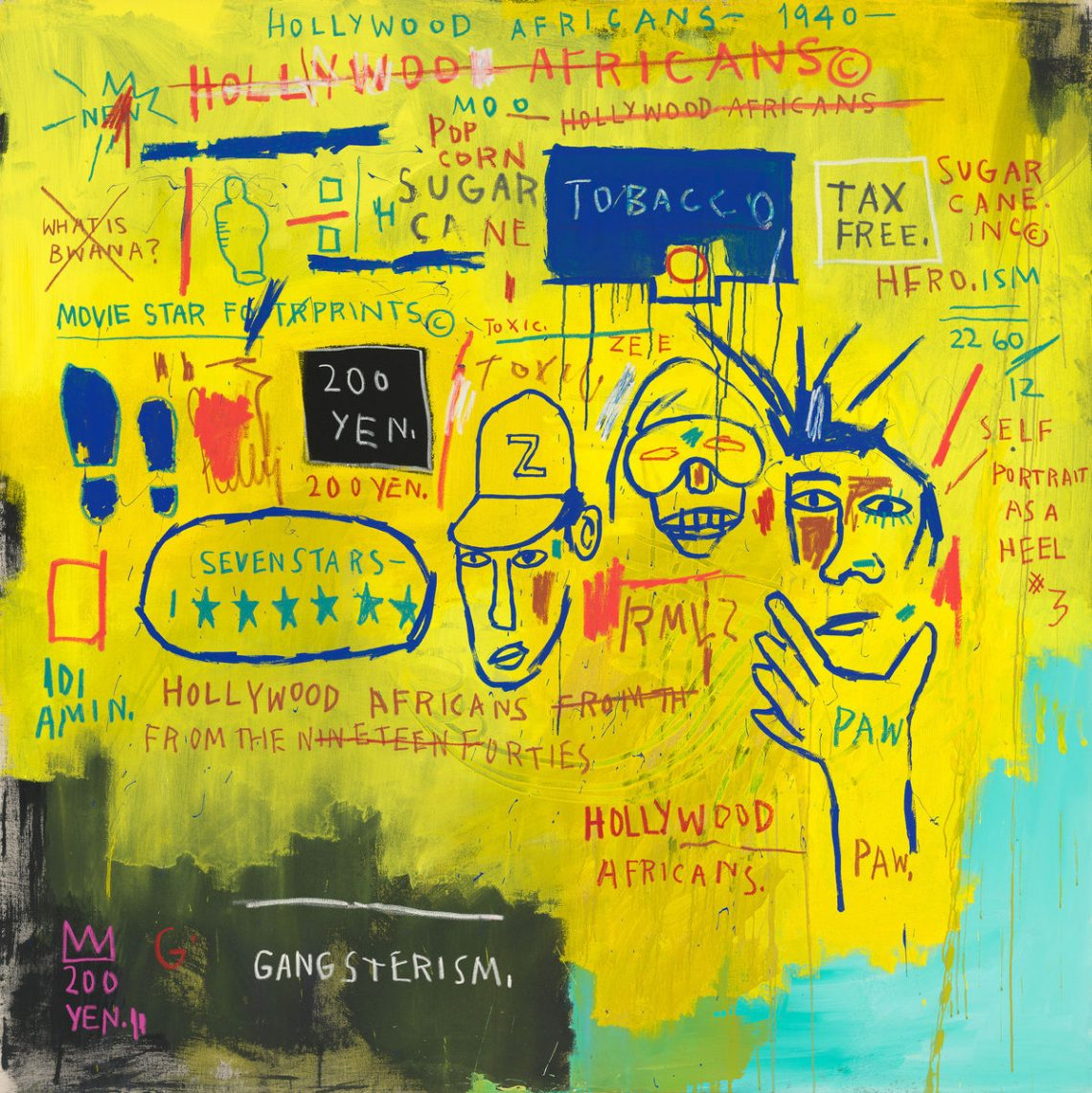 Hollywood Africans: African Americans and the Entertainment Industry in  Basquiat's Work