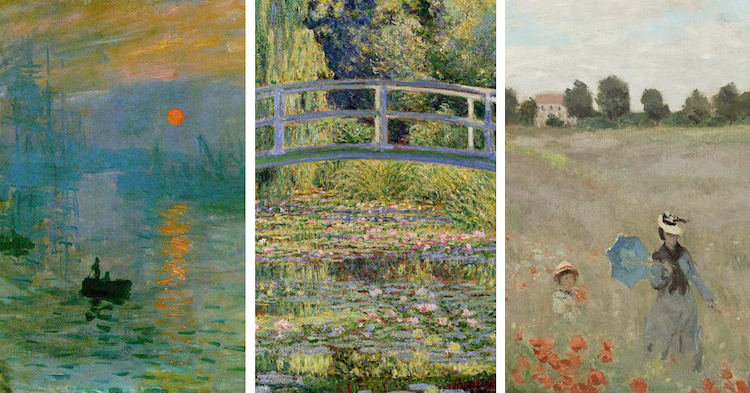 Landscapes by Monet
