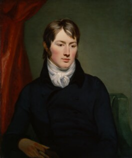 Portrait of Constable, painter of Hadleigh Castle, as a young man.