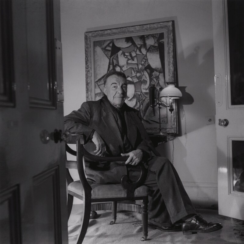 Portrait of Léger, the artist behind Contrast of Forms.