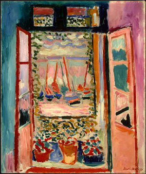Henri Matisse, Open Window, 1905.