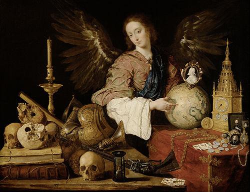 Vanitas painting: Antonio de Pereda, Allegory of Vanity