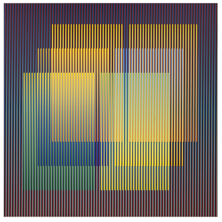 Carlos Cruz-Diez, Color Aditivo Serie, 1920 Best Living Abstract Artists