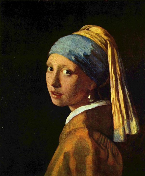 Johannes Vermeer, Girl with a Pearl Earring, 1666