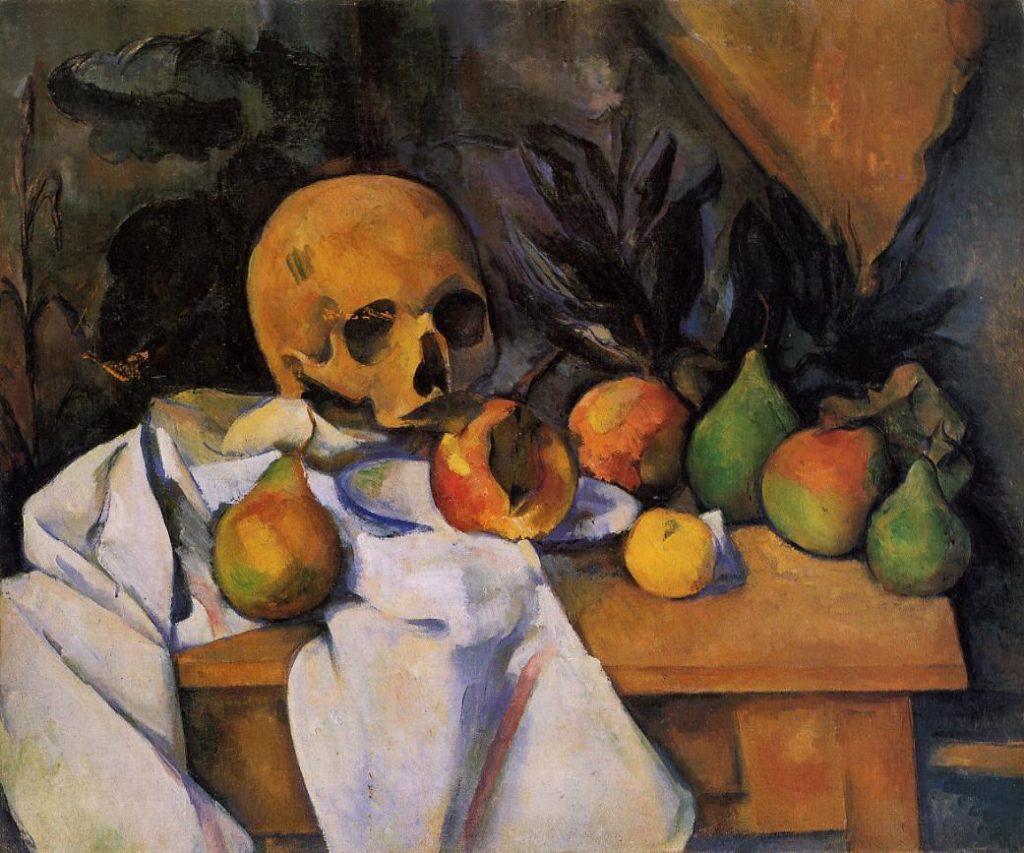 Paul Cézanne, Still Life with Skull (Nature morte au crâne)